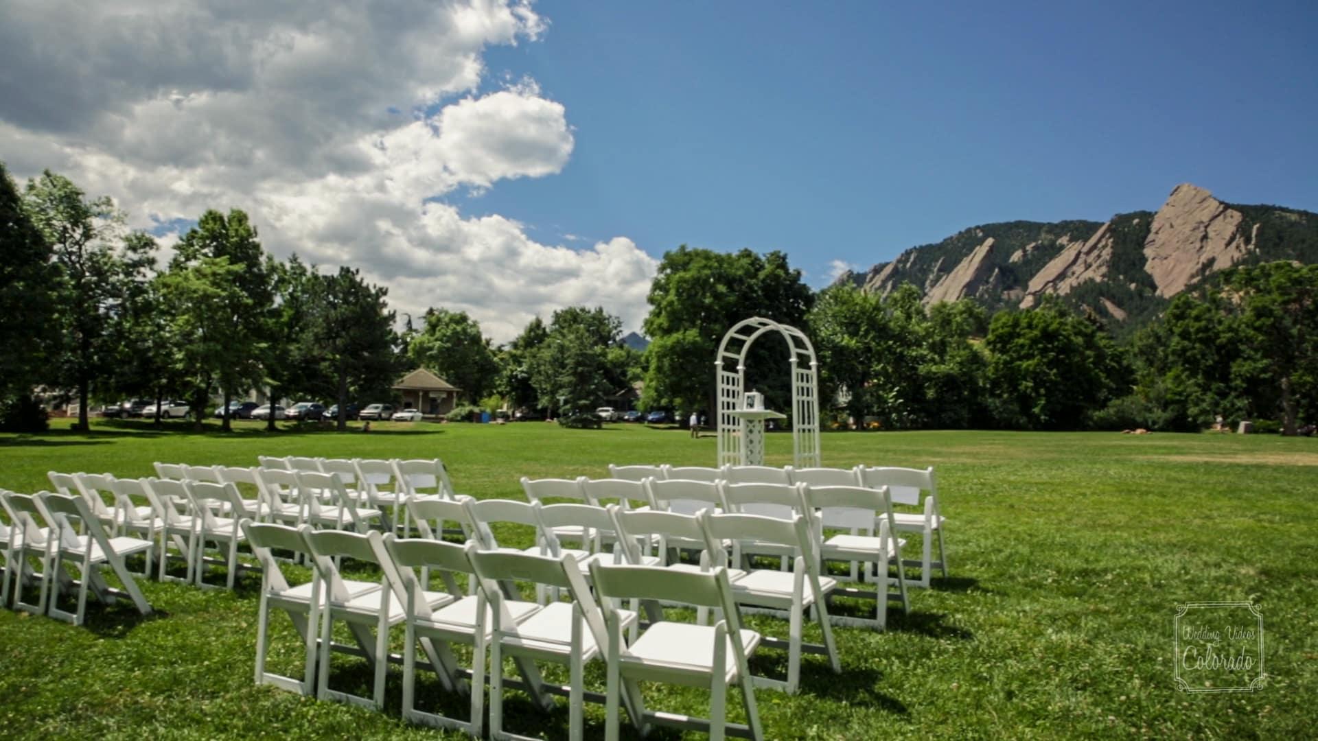Chautauqua Green Boulder Wedding