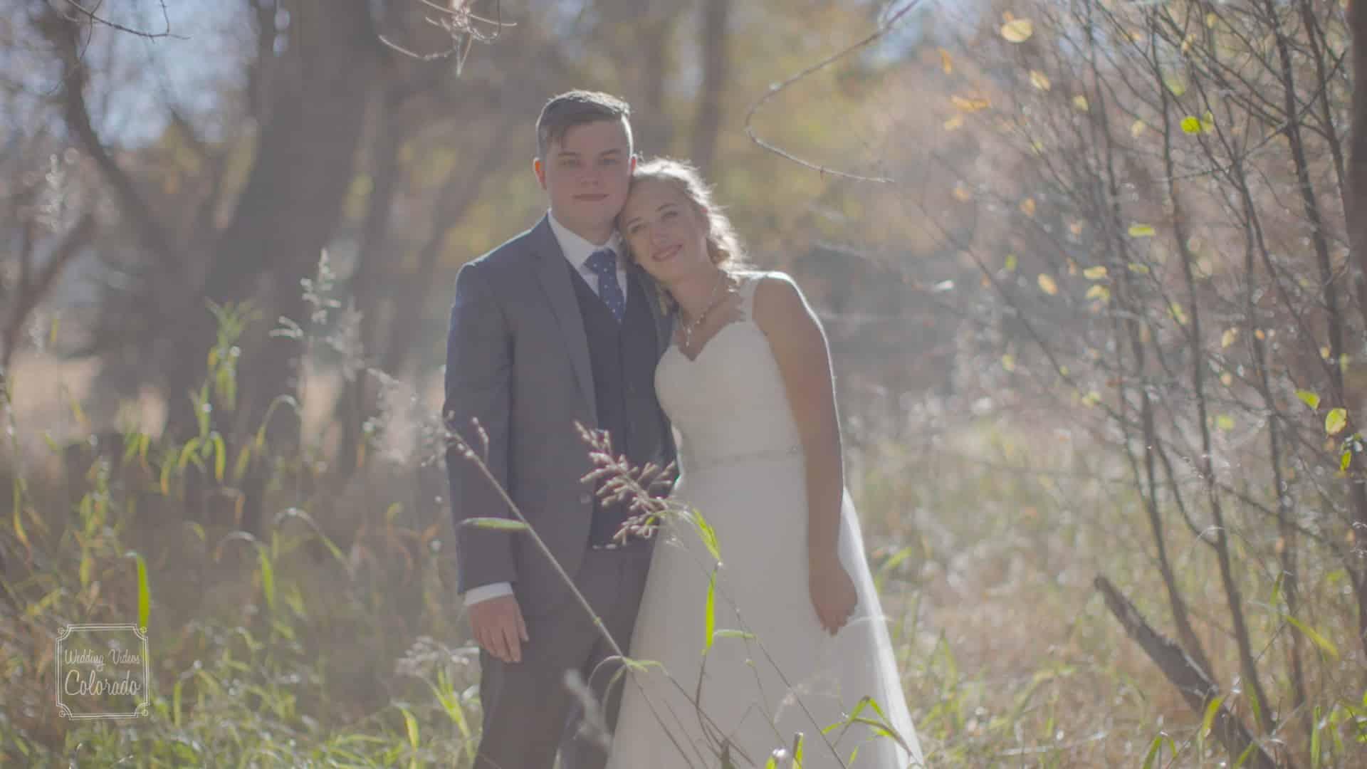 Tim & Ali Wedding Chatfield Botanical Garden