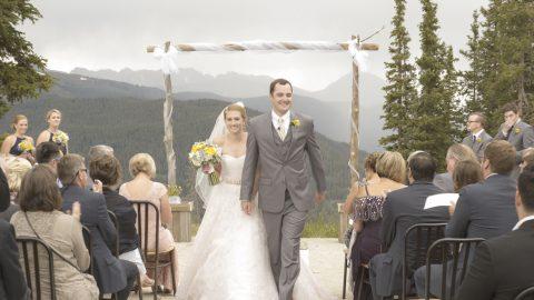 Sarah Jesse Copper Mountain Wedding Stills NOMARK