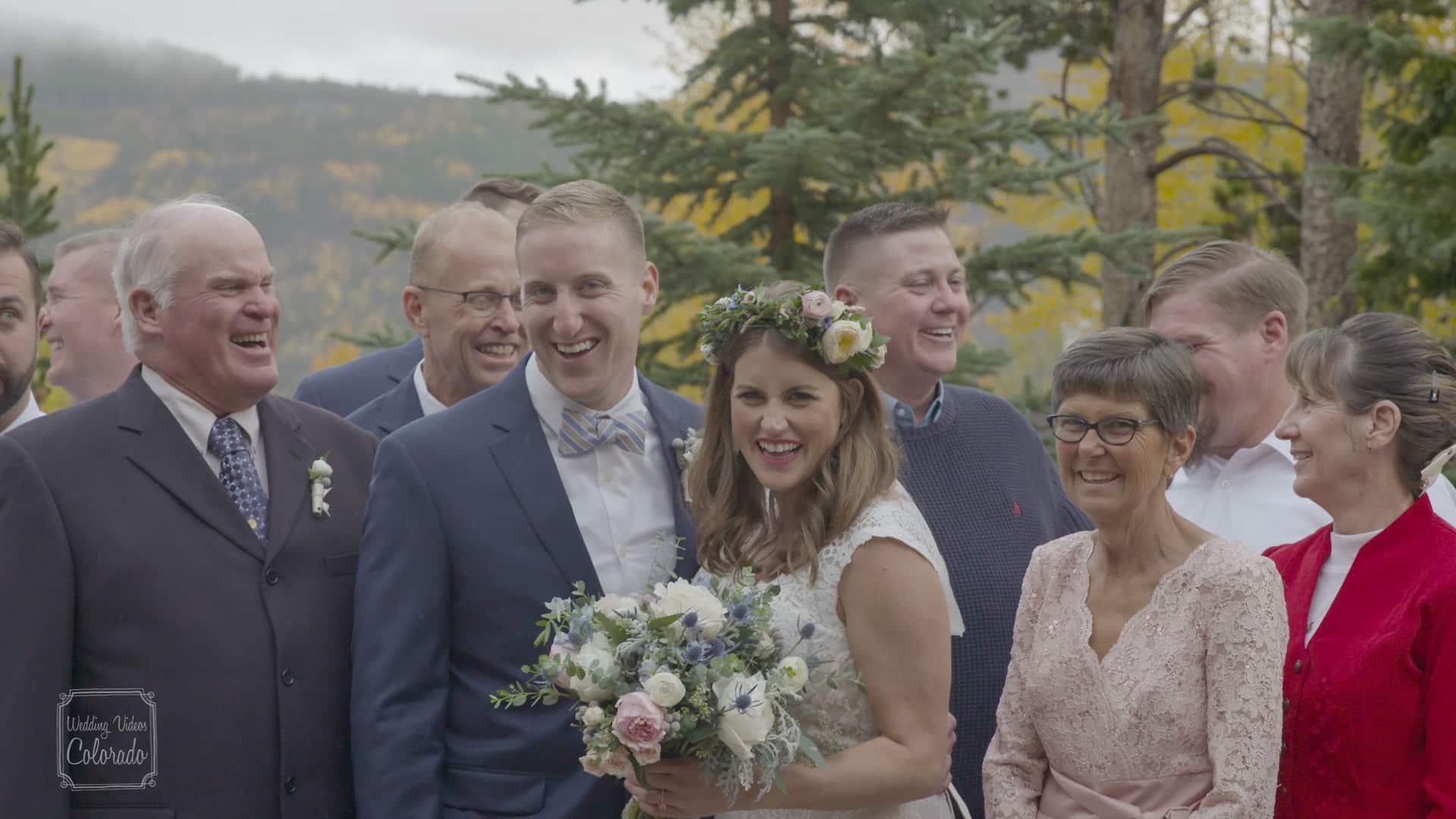 Brock Amber Wedding Still Blue Sky Breckenridge Colorado