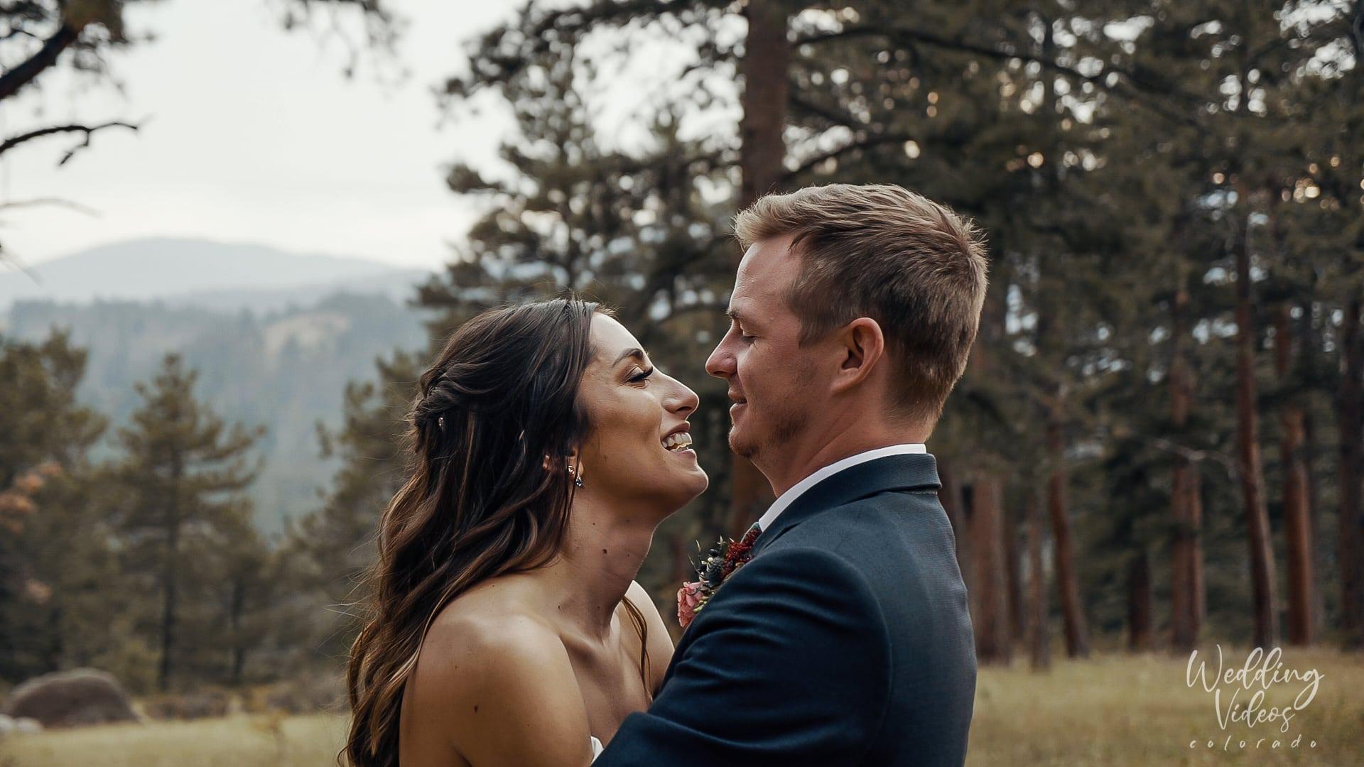 Chris Brianne Wedding Della Terra mountain chateau Estes Park