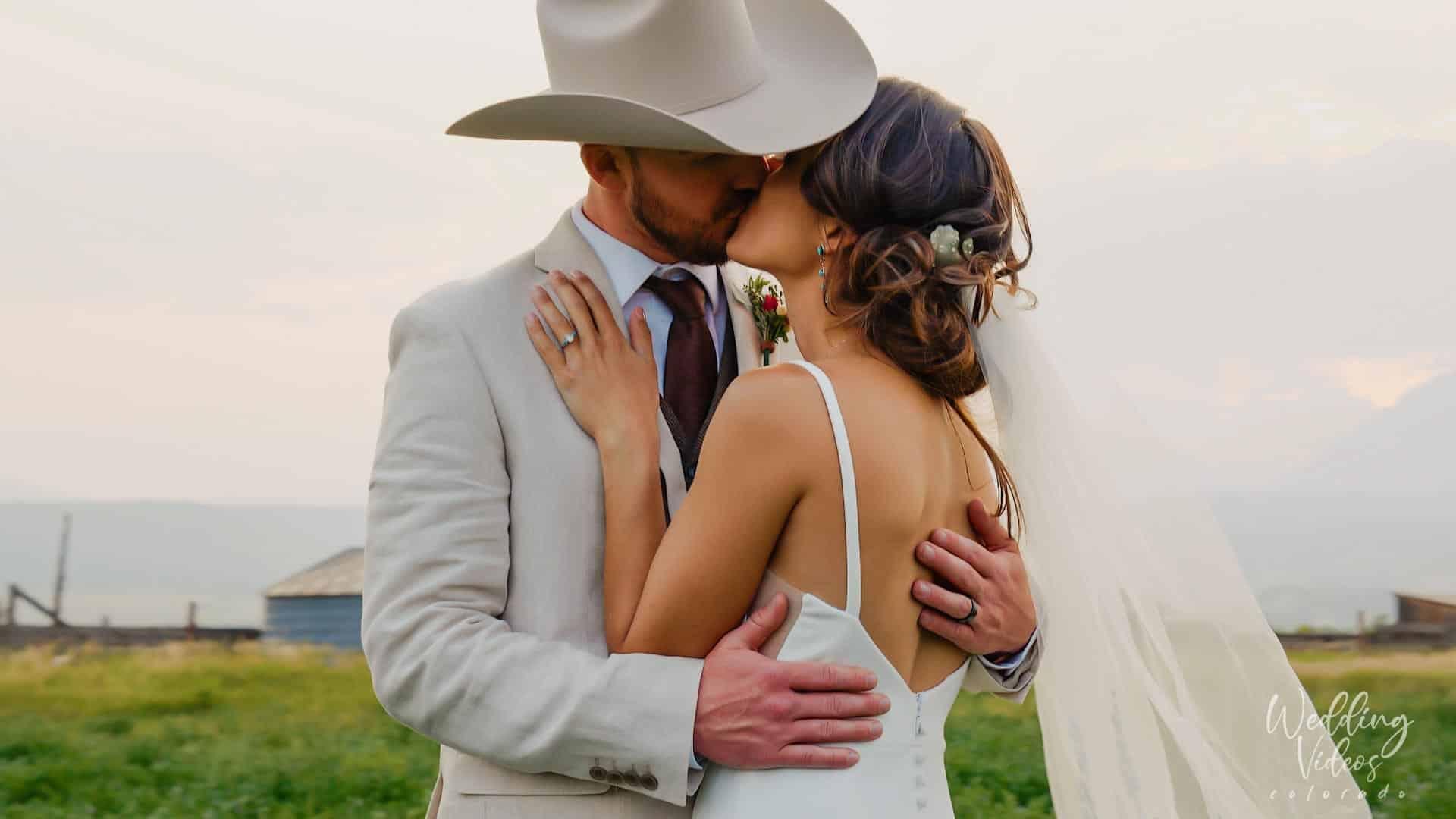 Justin Madison Salida Ranch Western Mountain Wedding