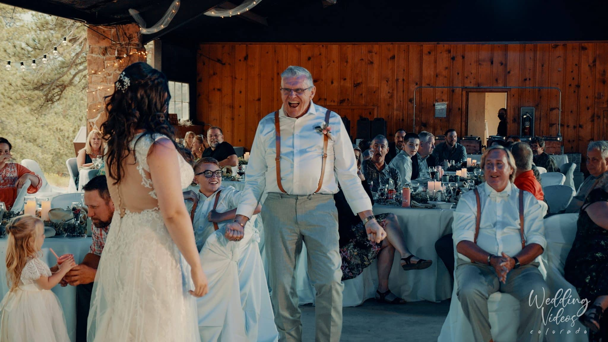 Lance Ashley YMCA of the Rockies Mountain Wedding