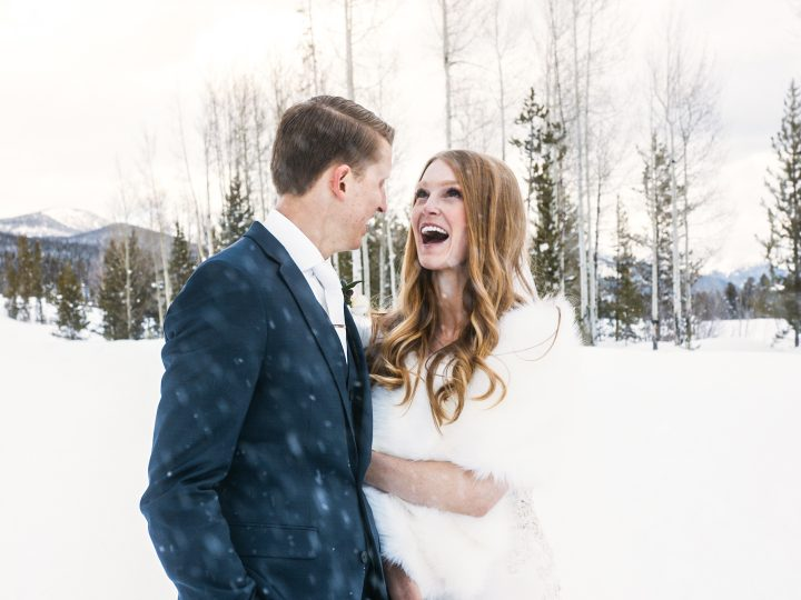 Matthew & Camille's Snow Wedding in Grand Lake, CO