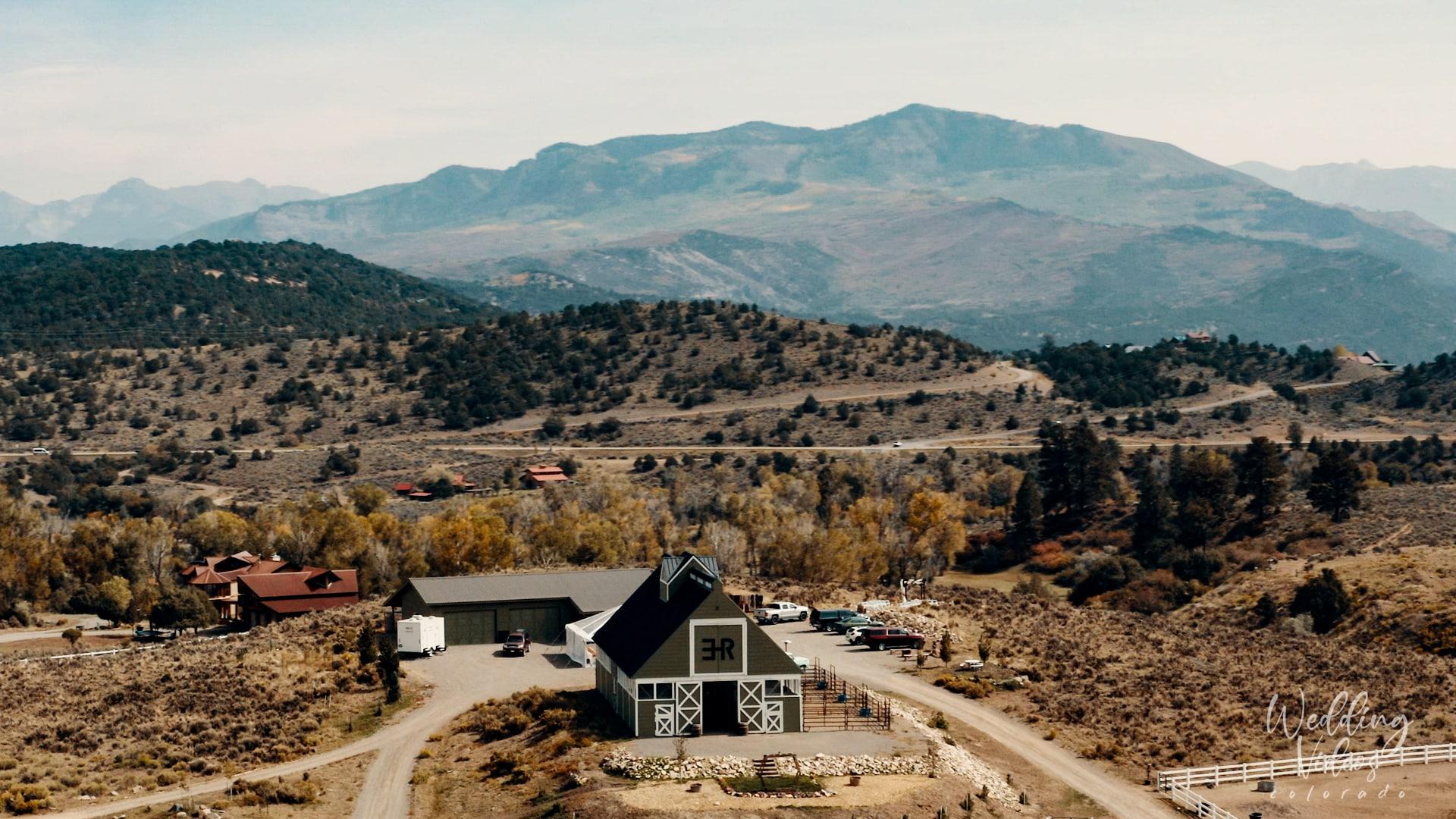 Matthew Celeste Wedding Ridgeway Colorado black canyon stables