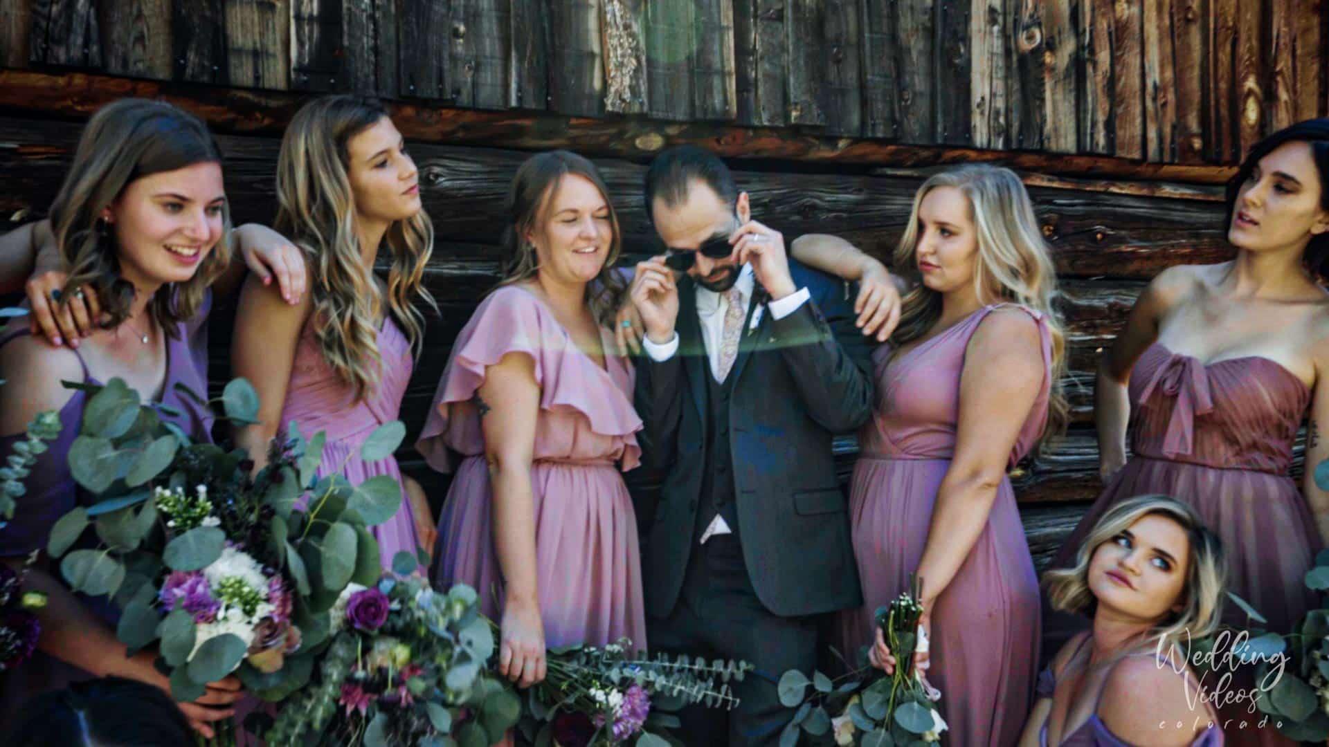Megan Luke historic golden hotel colorado wedding video