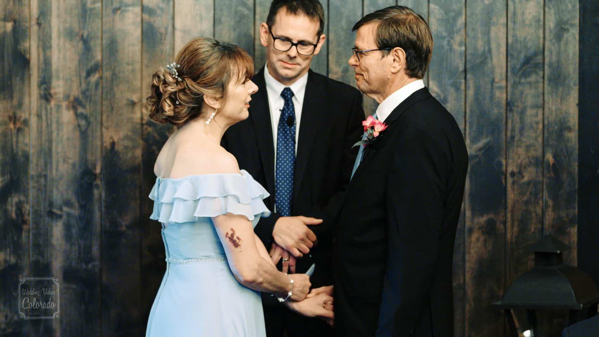 Randy & Helen Fort Collins ginger & baker wedding video