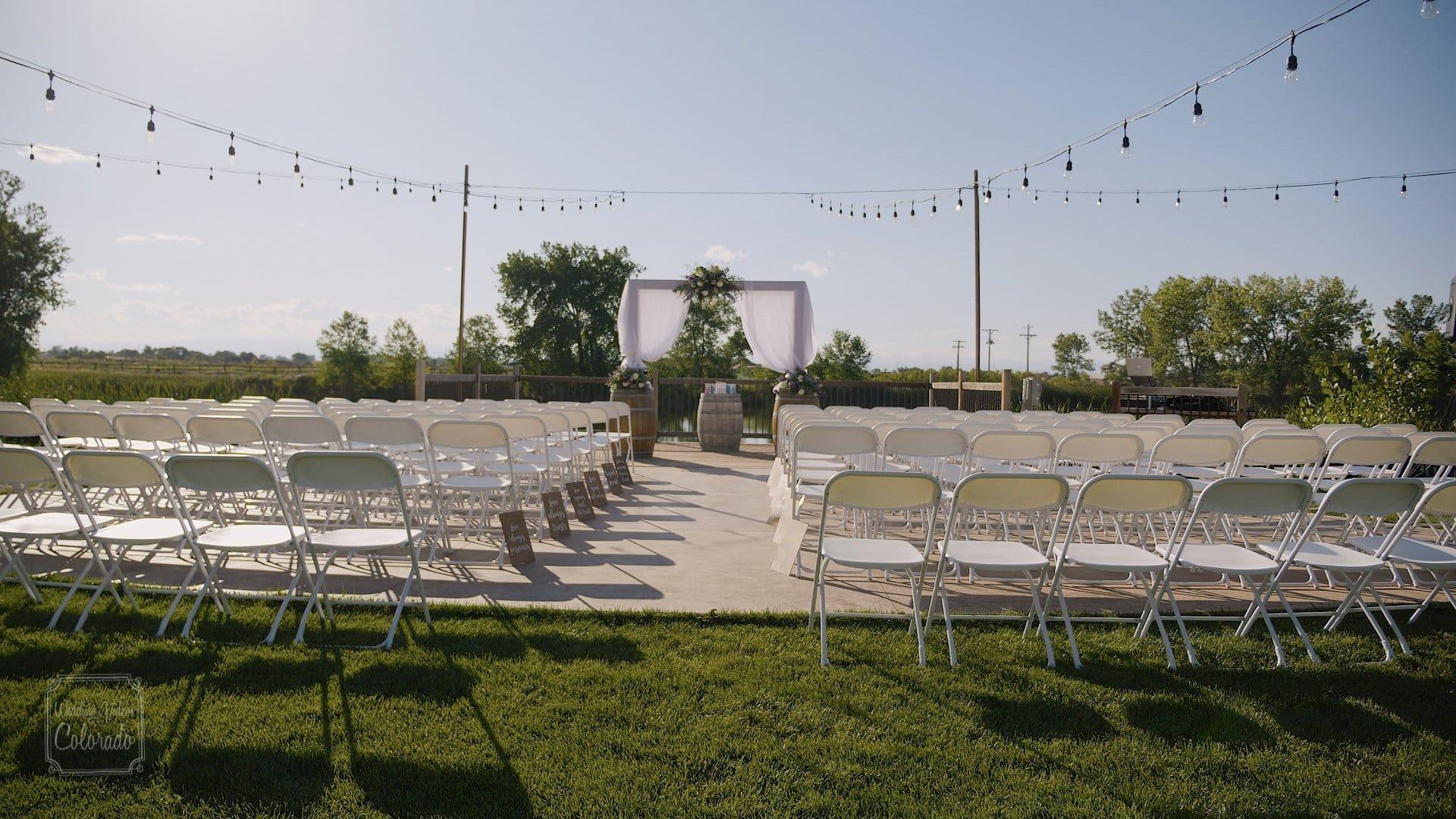 kathy brandon river garden winery wedding video