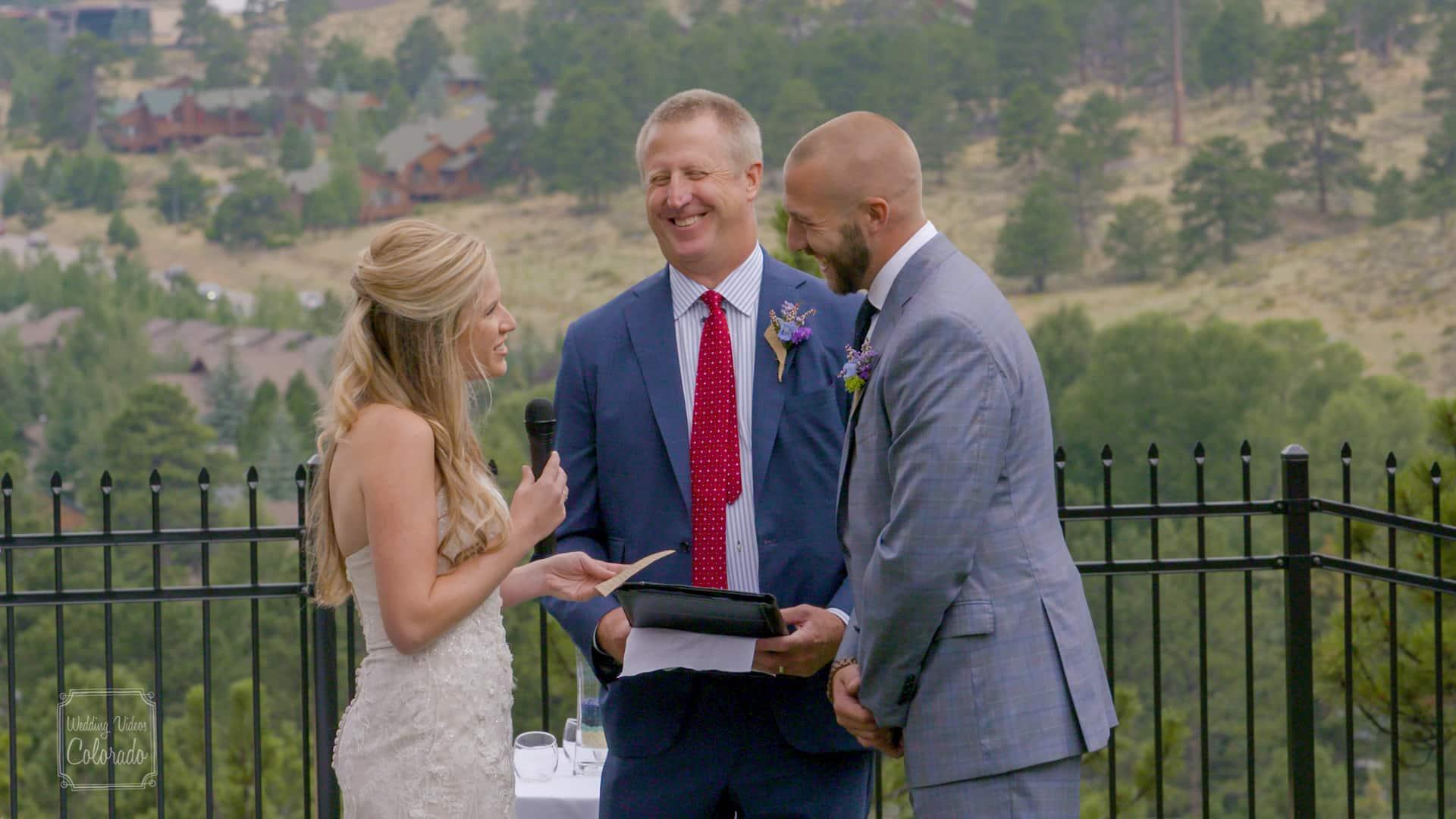historic crags lodge estes park wedding