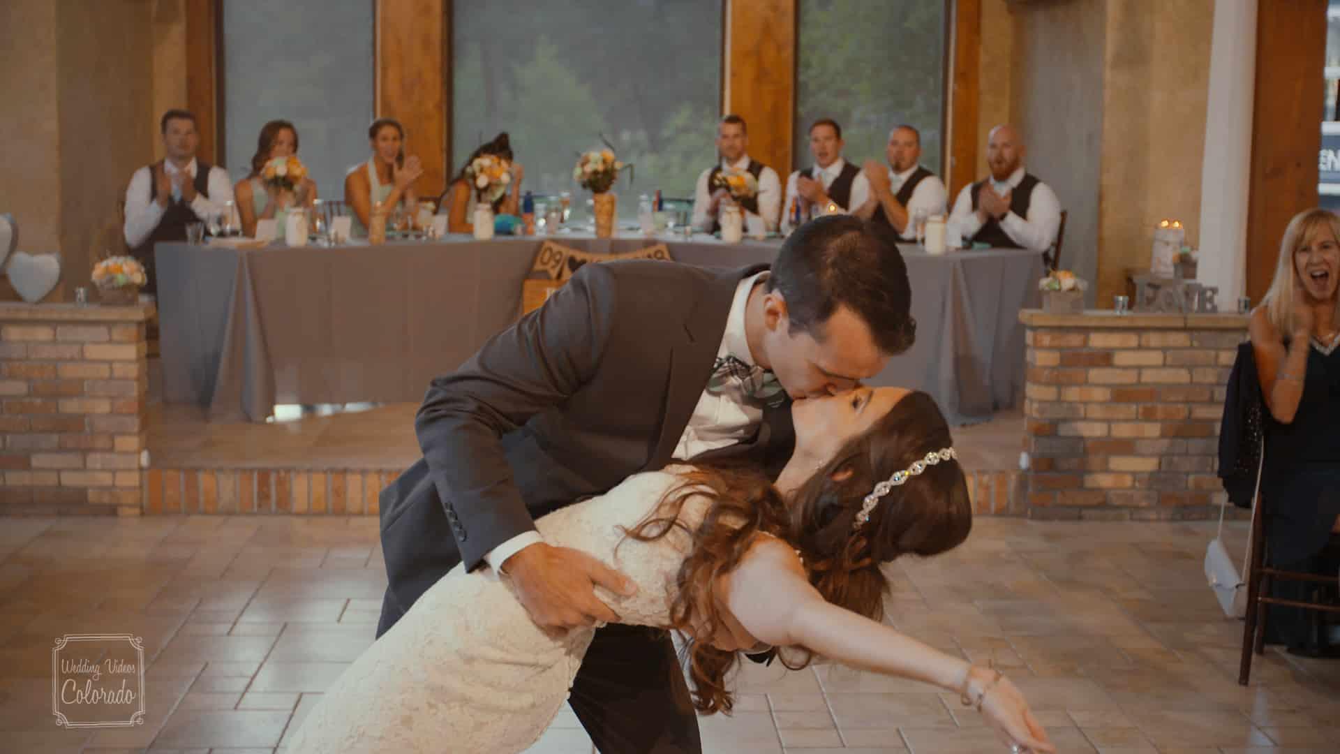 della terra mountain wedding video