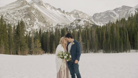 joshua amber RMNP bear lake elopement elope wedding