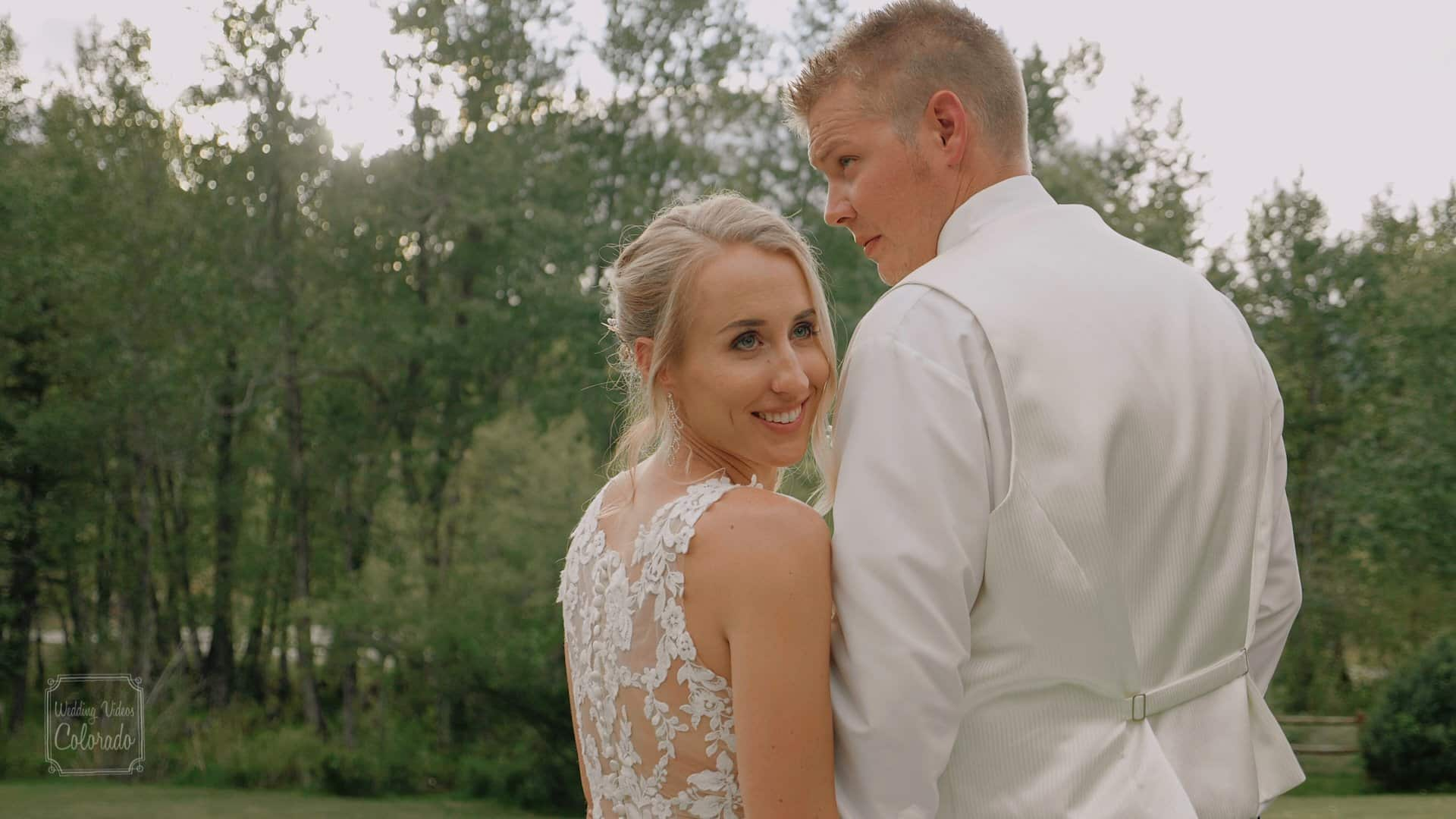 intimate romantic wedding black canyon inn