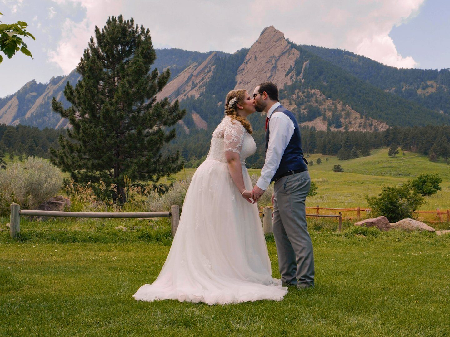 Michael & Christine at Lionscrest Manor, Lyons, CO