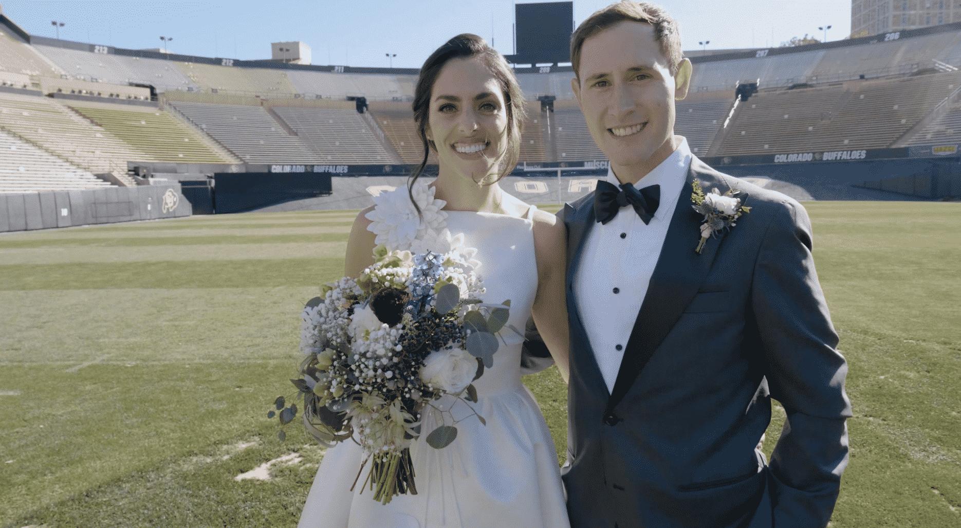 Brian Erin University of Colorado Boulder Wedding