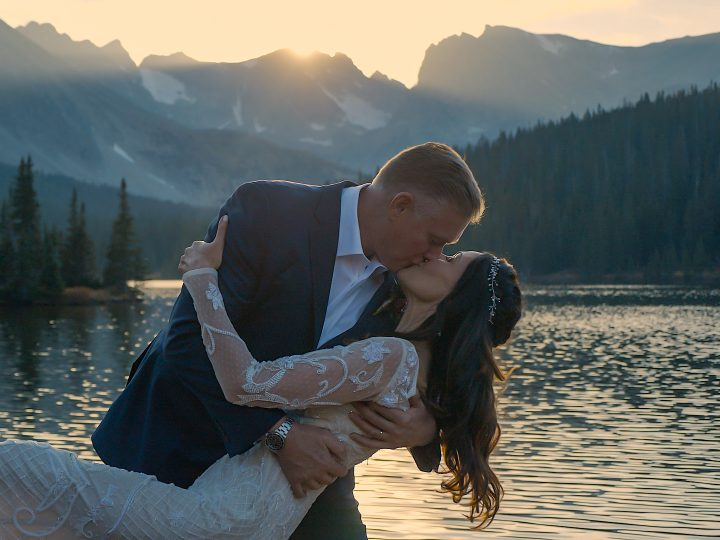 John & Jil Elopement Long Lake Trail, Boulder County, CO