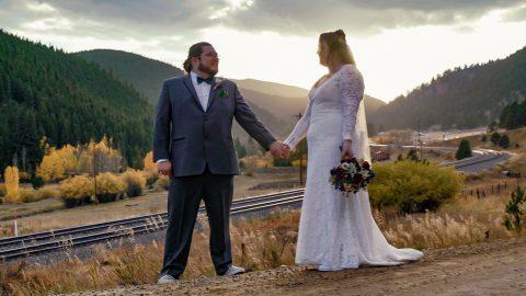 Justin Veronica Treehaus Black Hawk Wedding Elopement