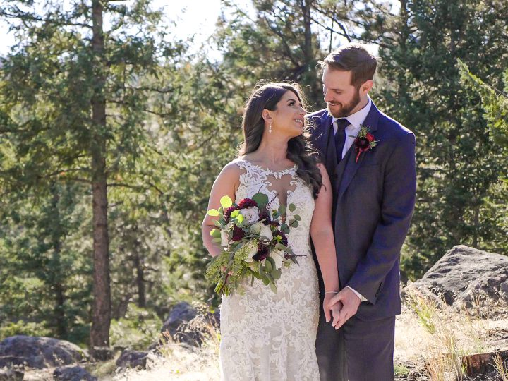 Taylor & Courtney Wedding at The Woodlands, CO